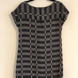 Lou & Grey Geometric Print Dress